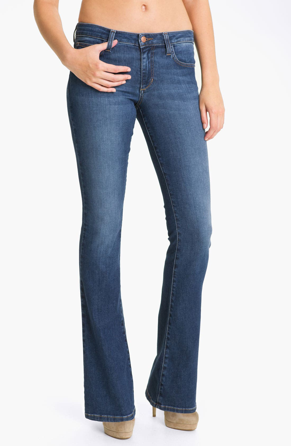 Alternate Image 1 Selected - Joe's 'Honey' Curvy Fit Bootcut Jeans (Angialee)