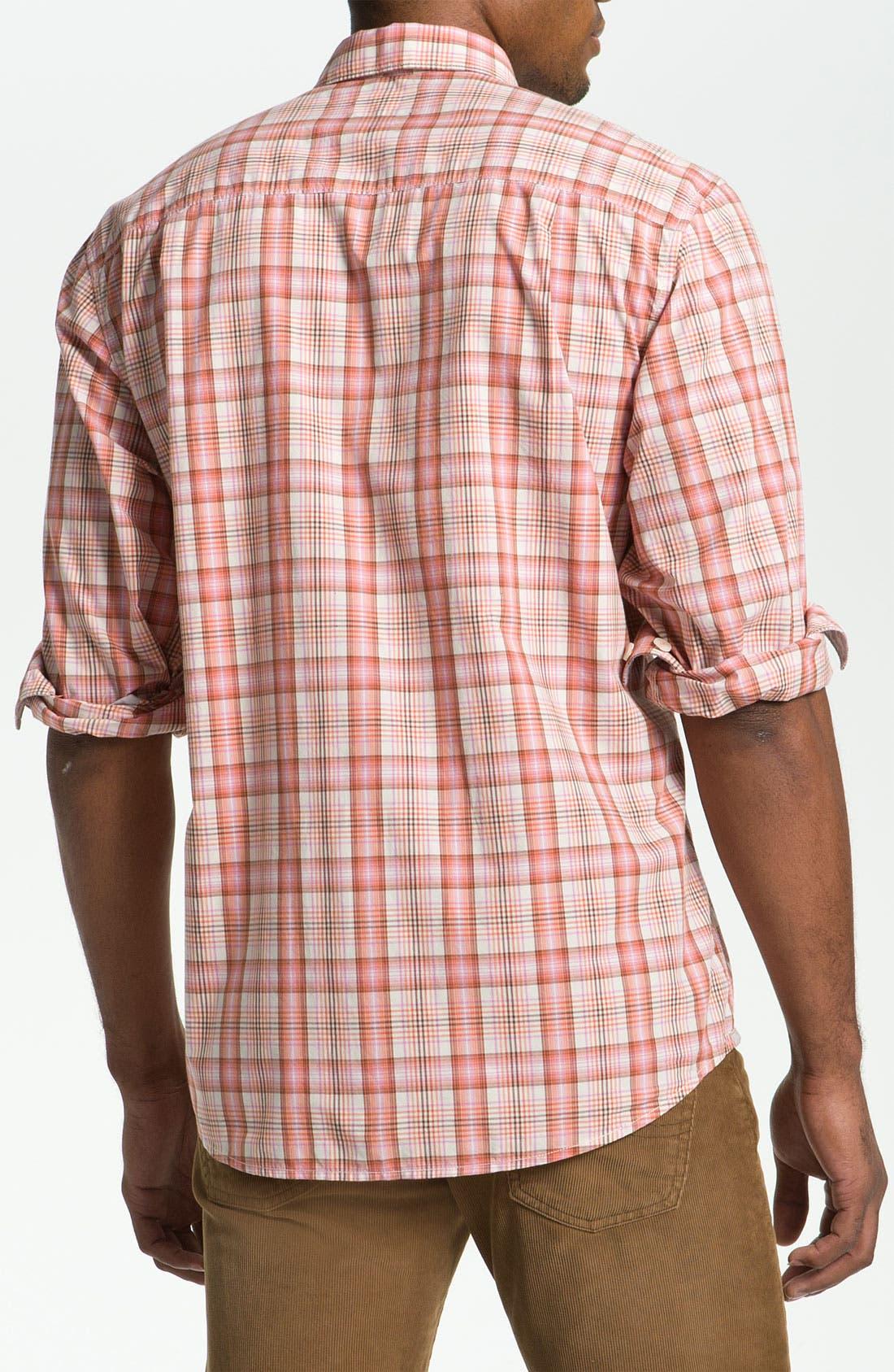 Alternate Image 2  - Tommy Bahama Denim 'Peachy Plaid' Sport Shirt