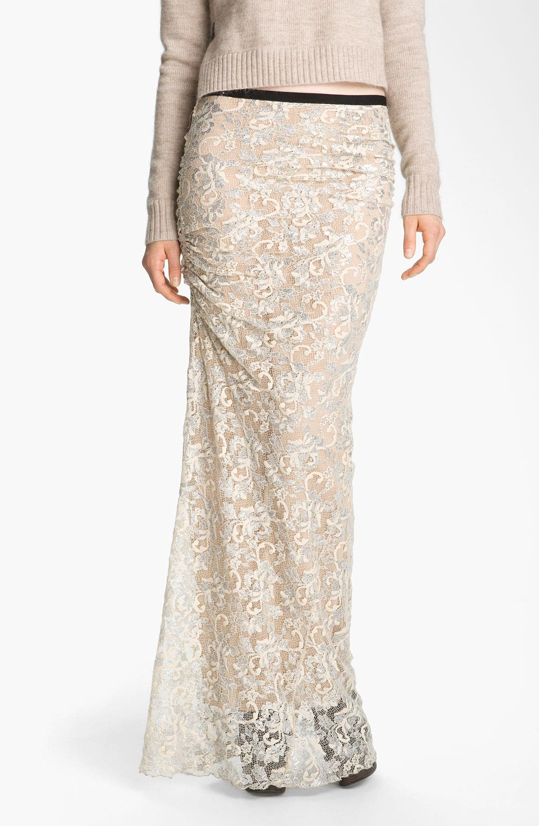 Alternate Image 1 Selected - Gryphon 'Linda' Lace Maxi Skirt