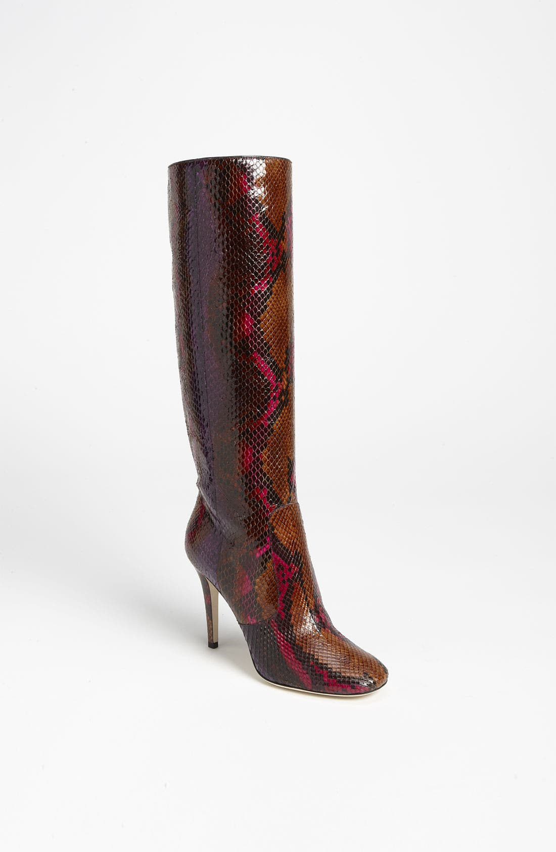 Alternate Image 1 Selected - Jimmy Choo 'Tosca' Genuine Python Pull-On Boot