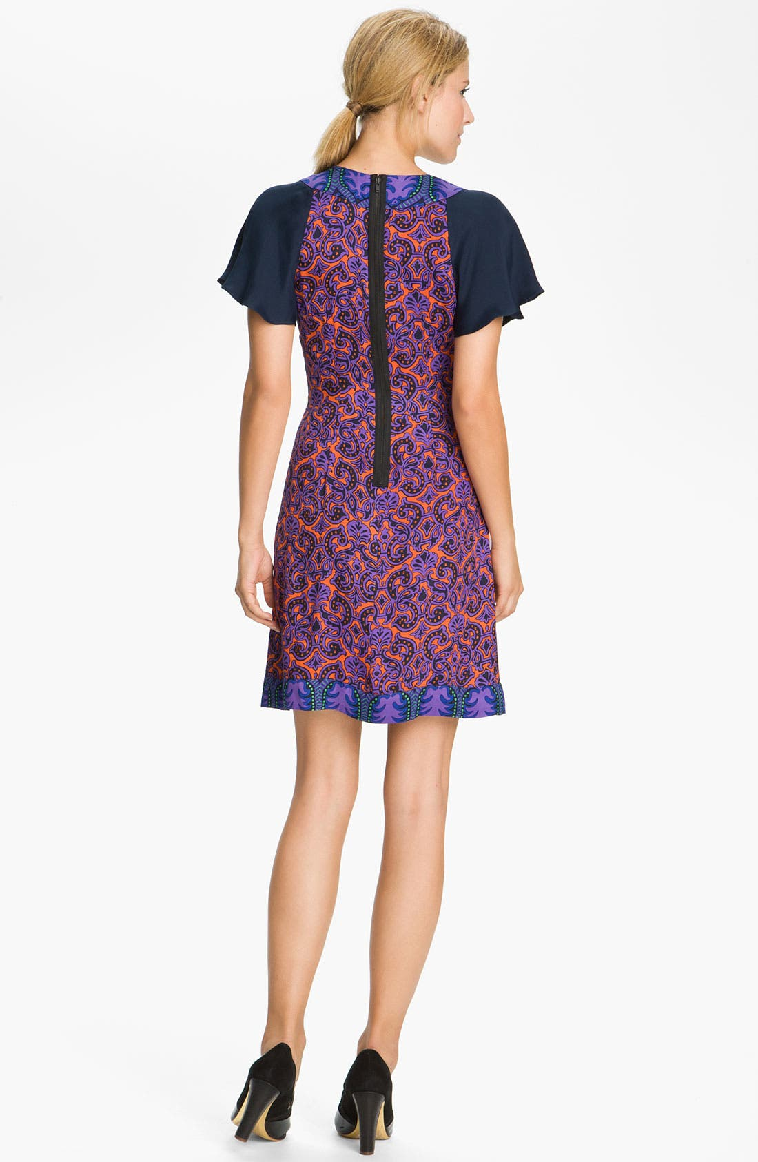 Alternate Image 2  - Tracy Reese Mixed Print Foulard Dress