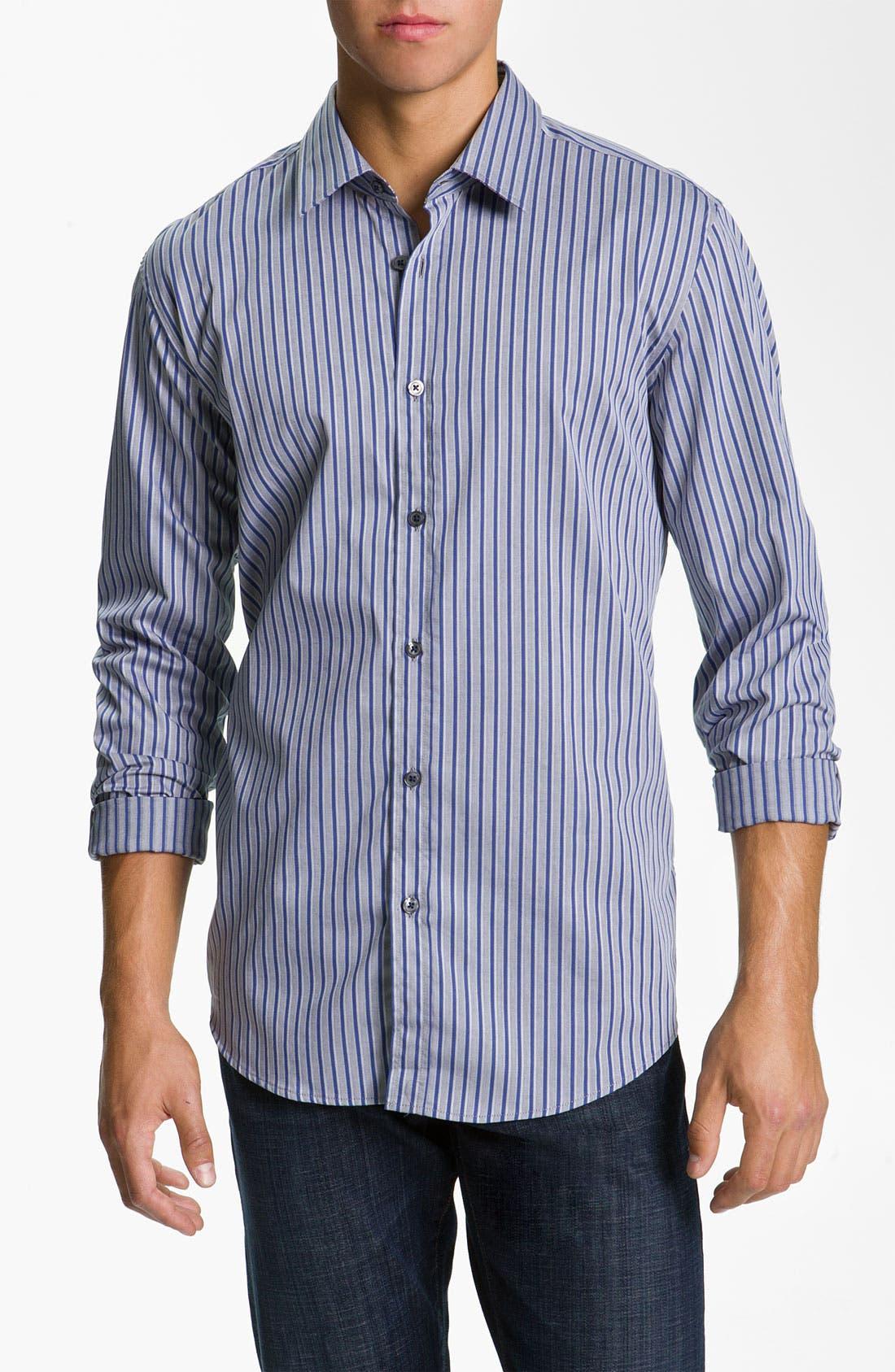 Alternate Image 1 Selected - BOSS Black 'Lucas' Regular Fit Sport Shirt