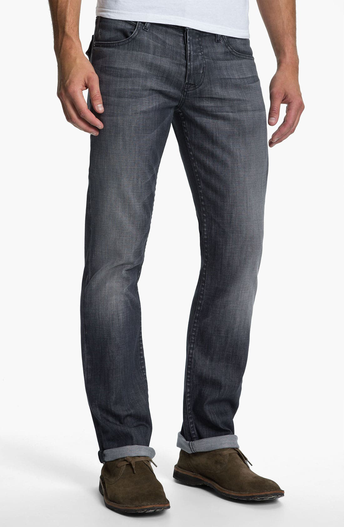 Alternate Image 2  - Hudson Jeans 'Byron' Straight Leg Jeans (Virage)