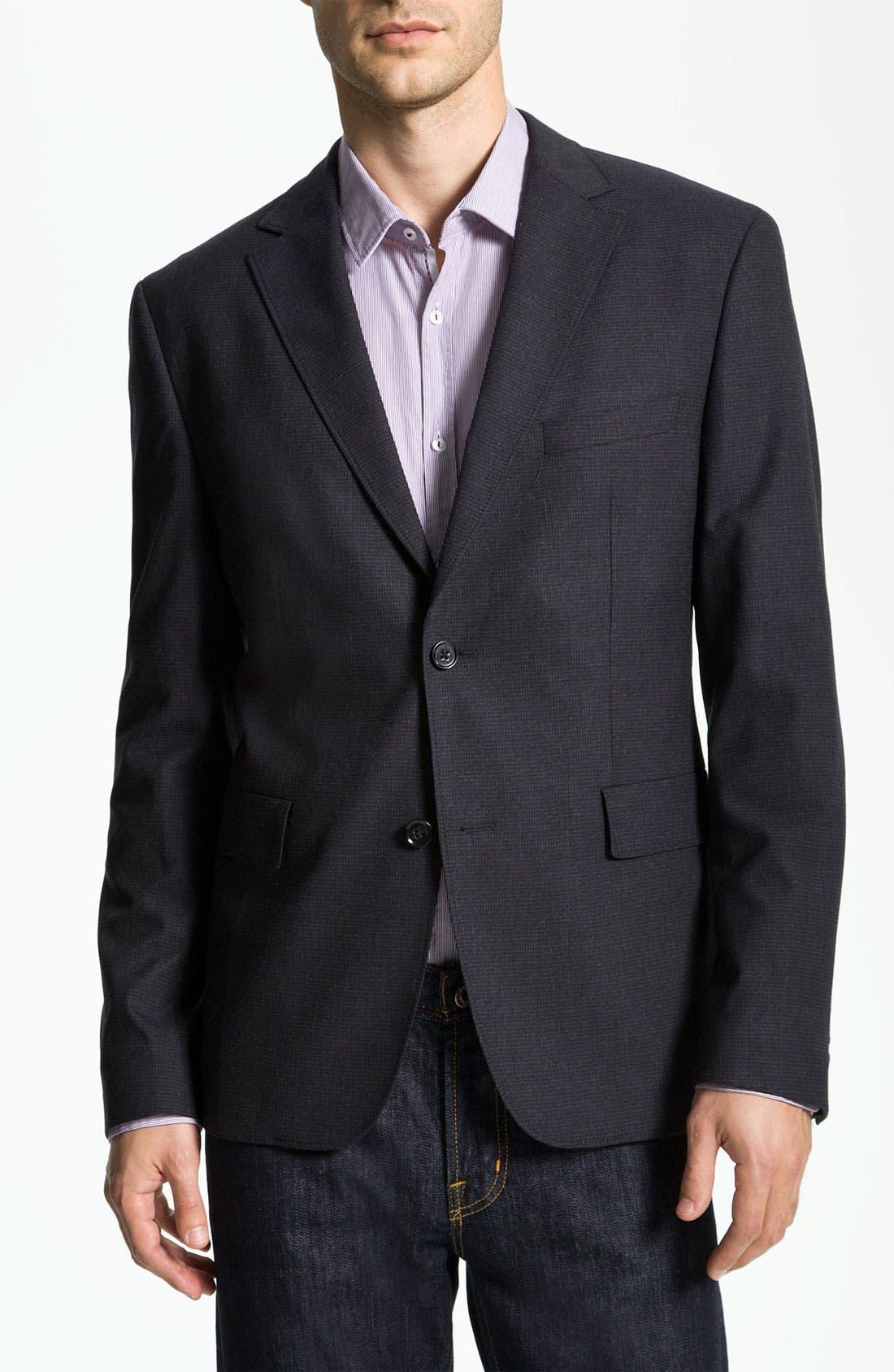 Alternate Image 1 Selected - BOSS Black 'Coastus 1' Blazer