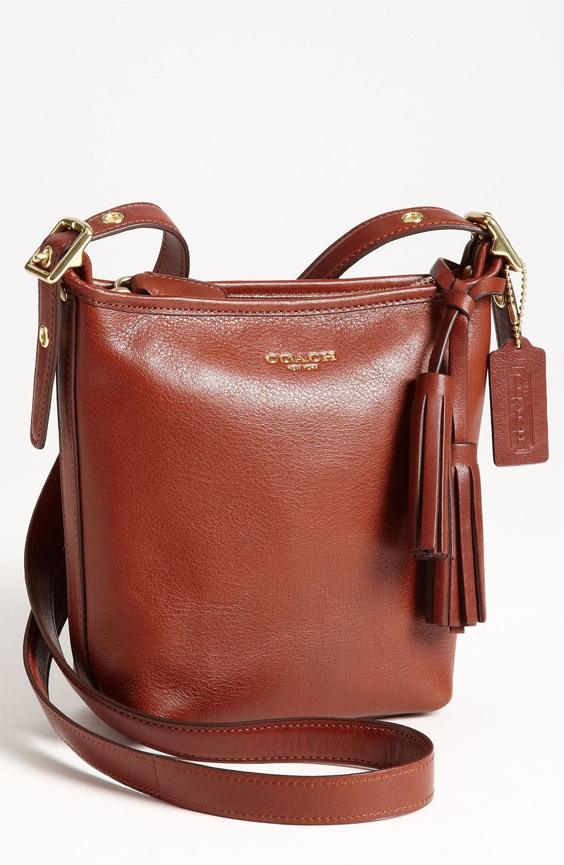 Alternate Image 1 Selected - COACH 'Legacy - Mini' Leather Shoulder Bag