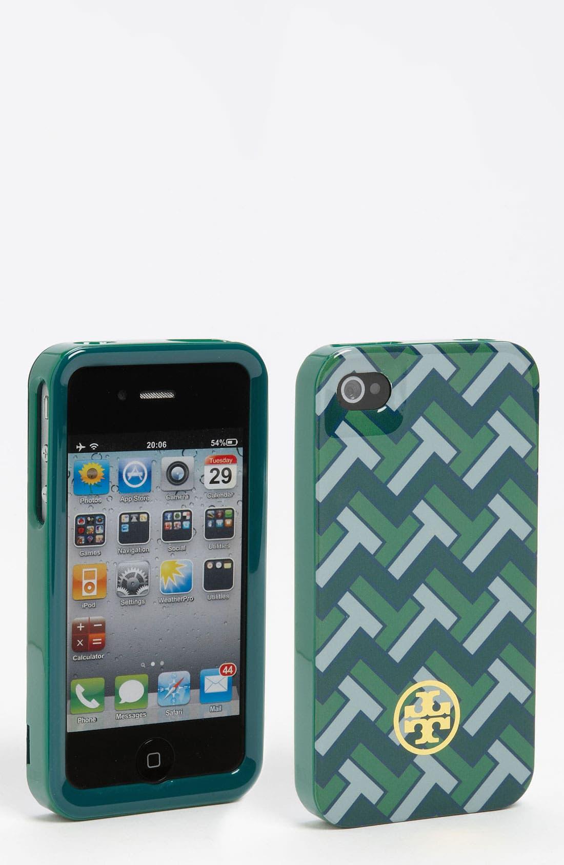 Main Image - Tory Burch 'Foxy' Hard Shell iPhone 4 & 4S Case