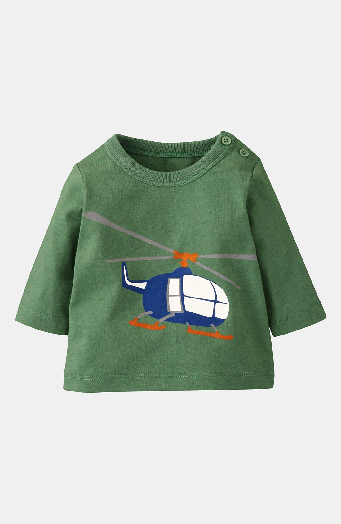 Alternate Image 1 Selected - Mini Boden 'Vehicle' T-Shirt (Infant)