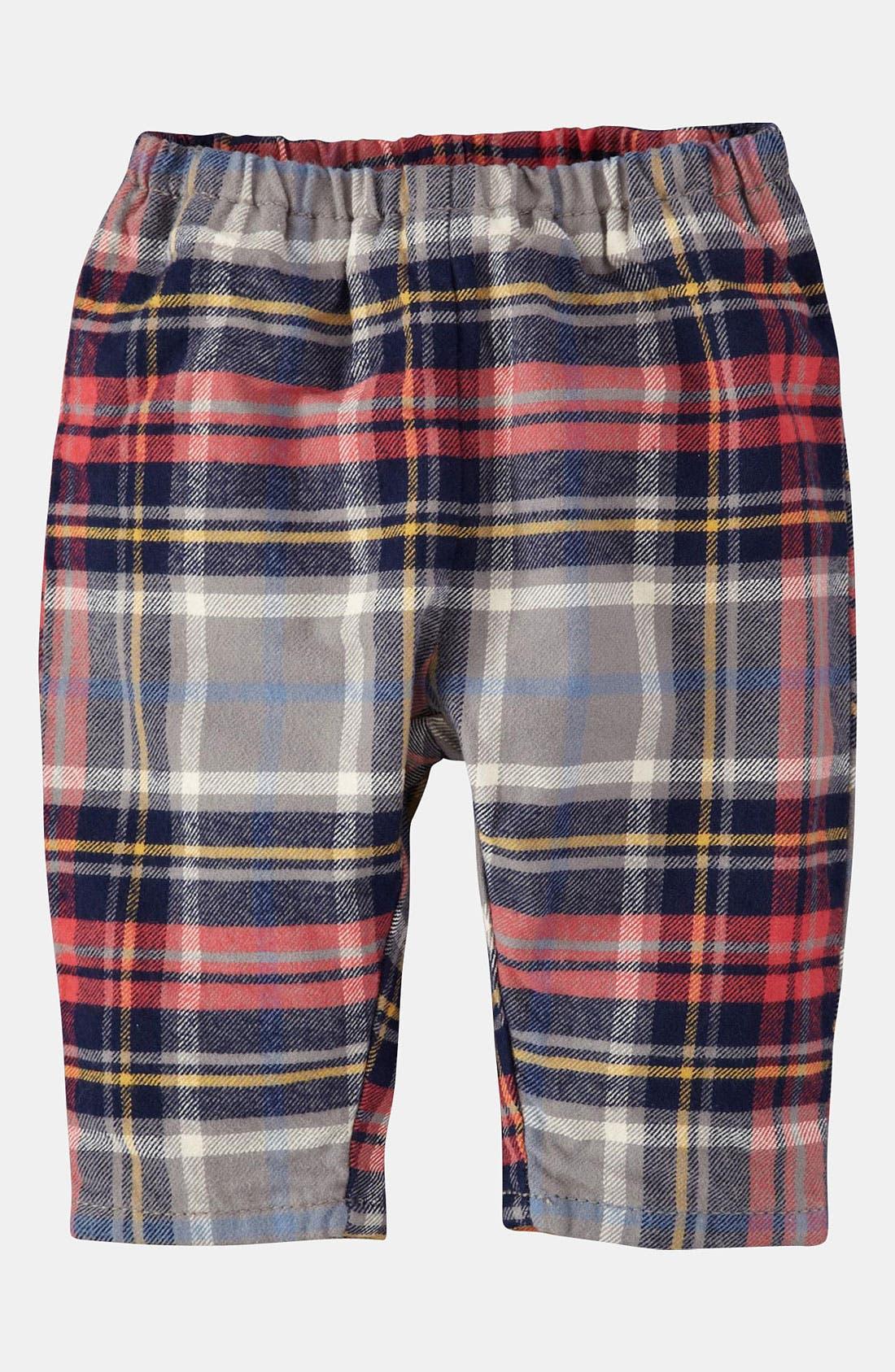 Alternate Image 1 Selected - Mini Boden Lined Pants (Infant)