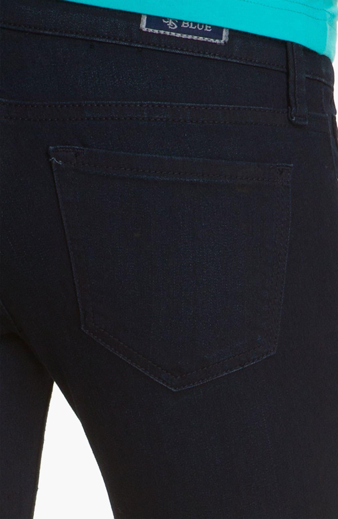 Alternate Image 3  - See Thru Soul Baby Bootcut Jeans (Bayshore Beach) (Juniors)