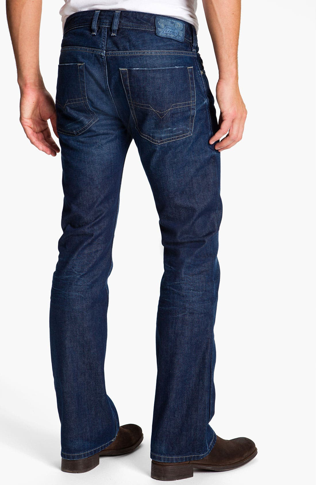 Alternate Image 1 Selected - DIESEL® 'Zatiny' Bootcut Jeans (0802D)