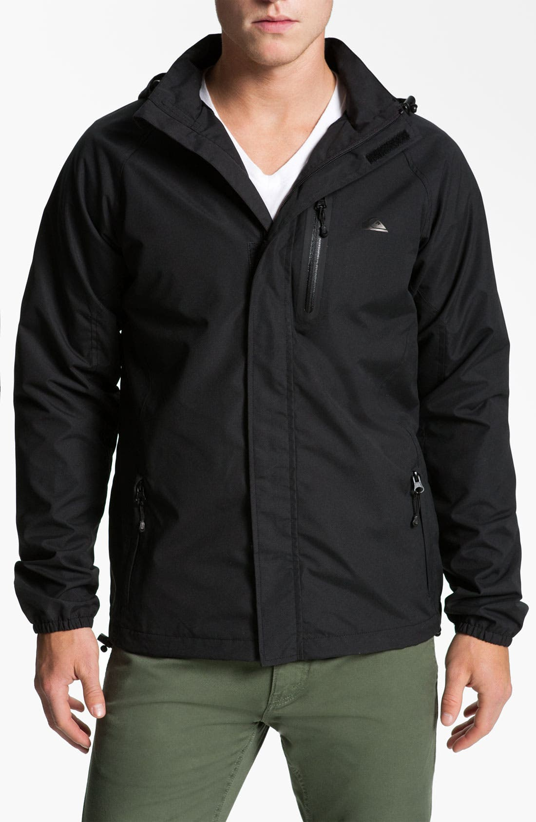 Alternate Image 1 Selected - Quiksilver 'Icon' Microfiber Jacket