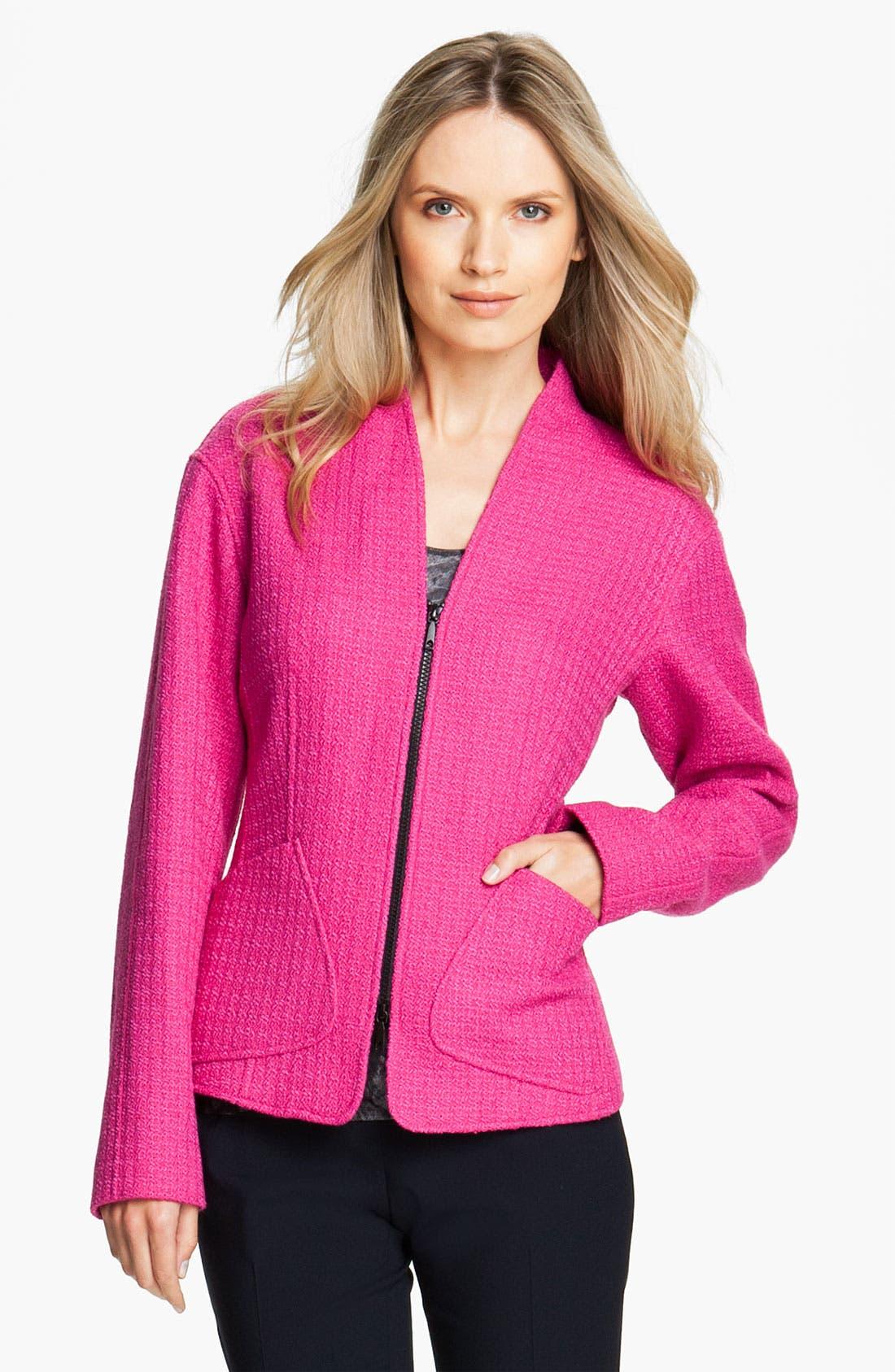 Alternate Image 1 Selected - Lafayette 148 New York 'Patricia Abbey Tweed' Jacket