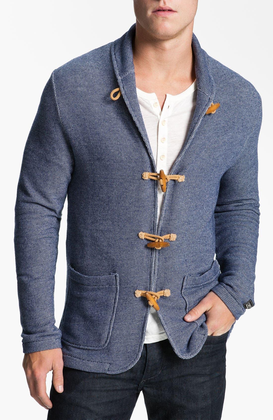 Main Image - Obey 'Tracks' Shawl Collar Cardigan
