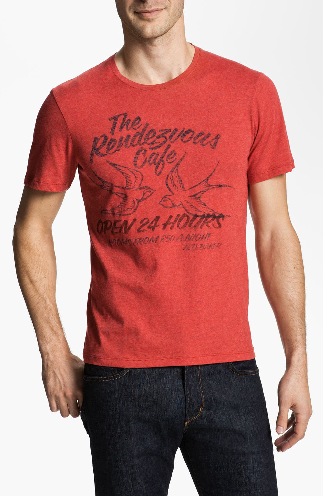 Alternate Image 1 Selected - Ted Baker London 'Swalloe' Graphic T-Shirt