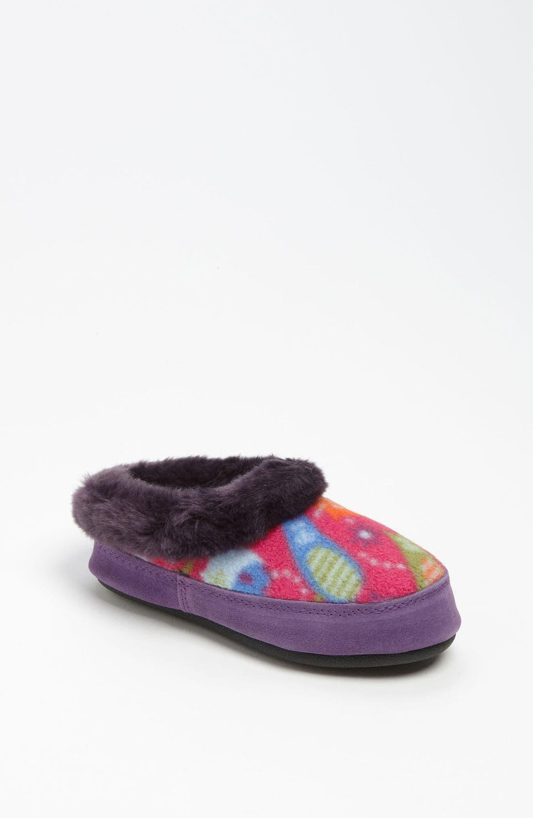 Alternate Image 1 Selected - Acorn 'Hopscotch' Slipper (Toddler, Little Kid & Big Kid)