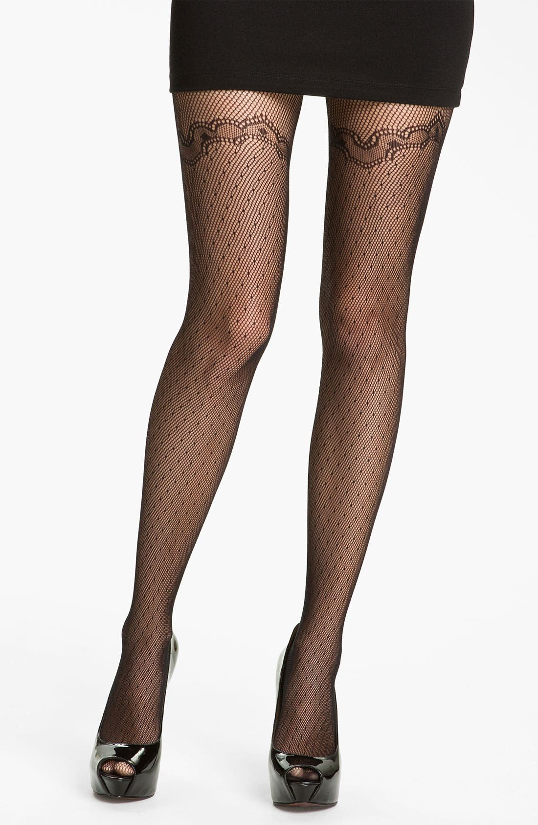 Alternate Image 1 Selected - Commando 'Ladylike Texture' Tights