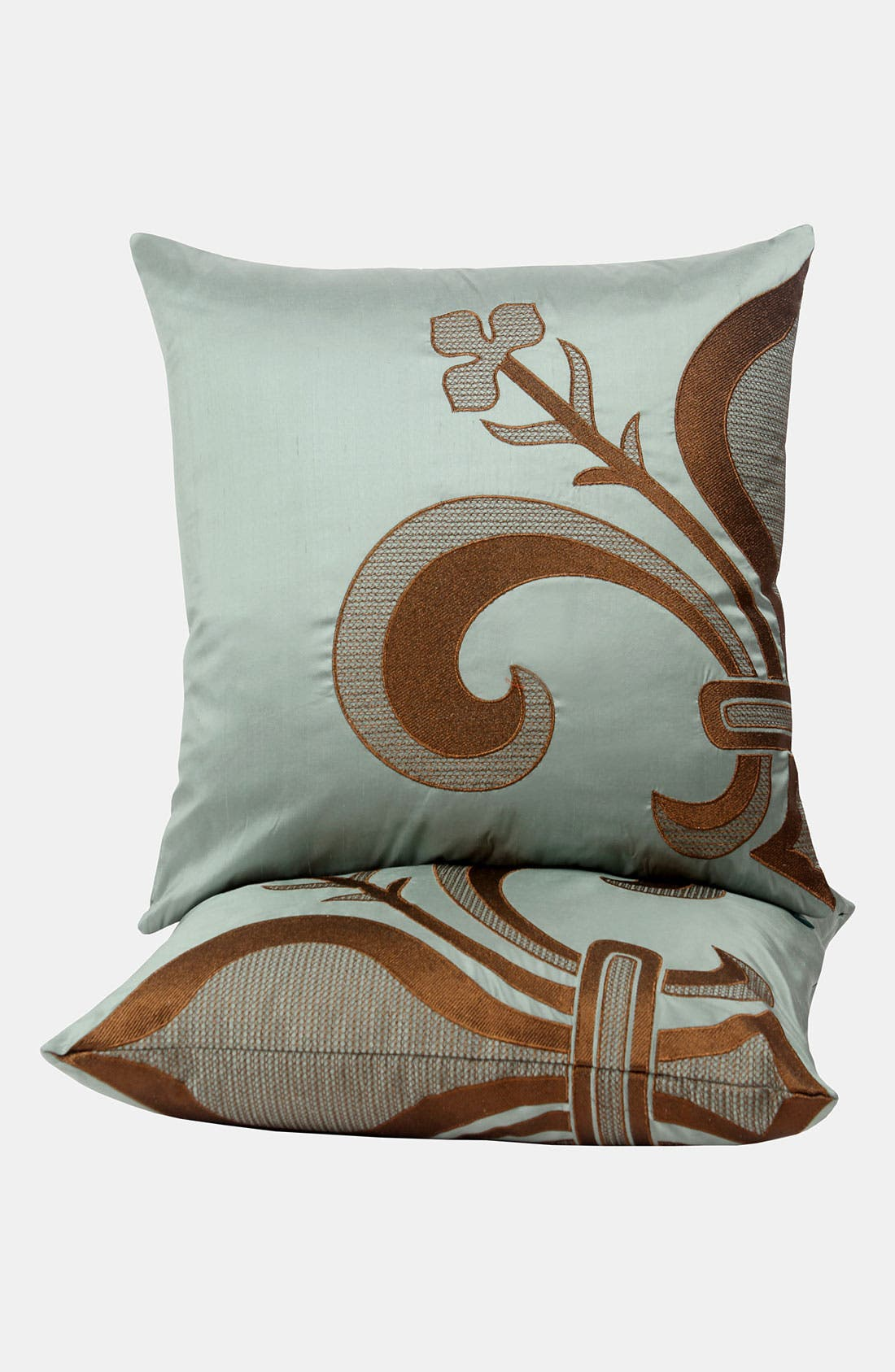 Alternate Image 2  - Blissliving Home 'Louis' Silk Dupioni Pillow (Online Only)