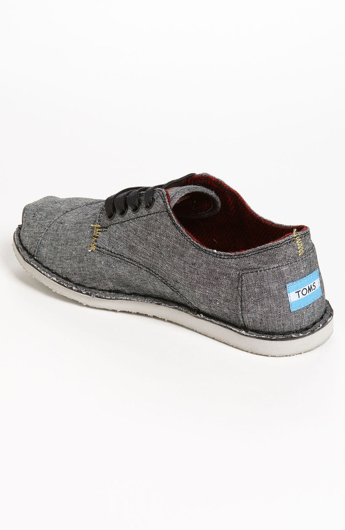 Alternate Image 2  - TOMS 'Desert' Chambray Oxford (Men)
