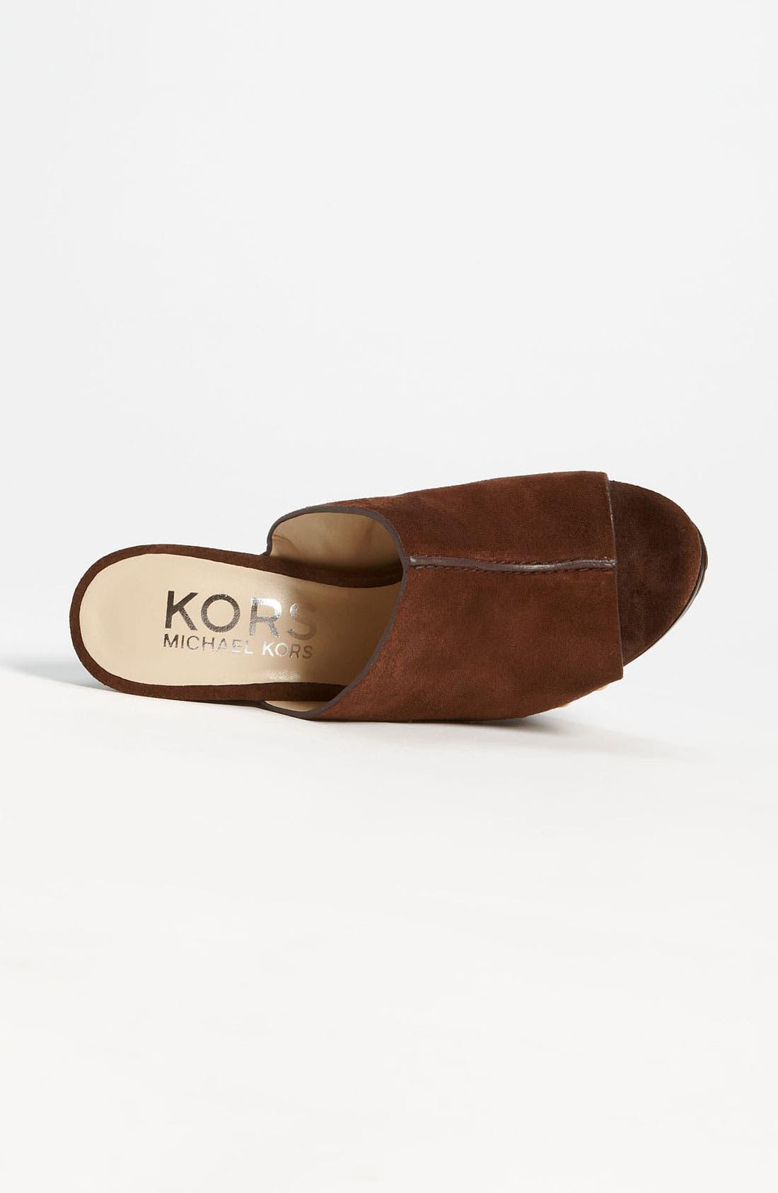 Alternate Image 3  - KORS Michael Kors 'Kempsey' Mule