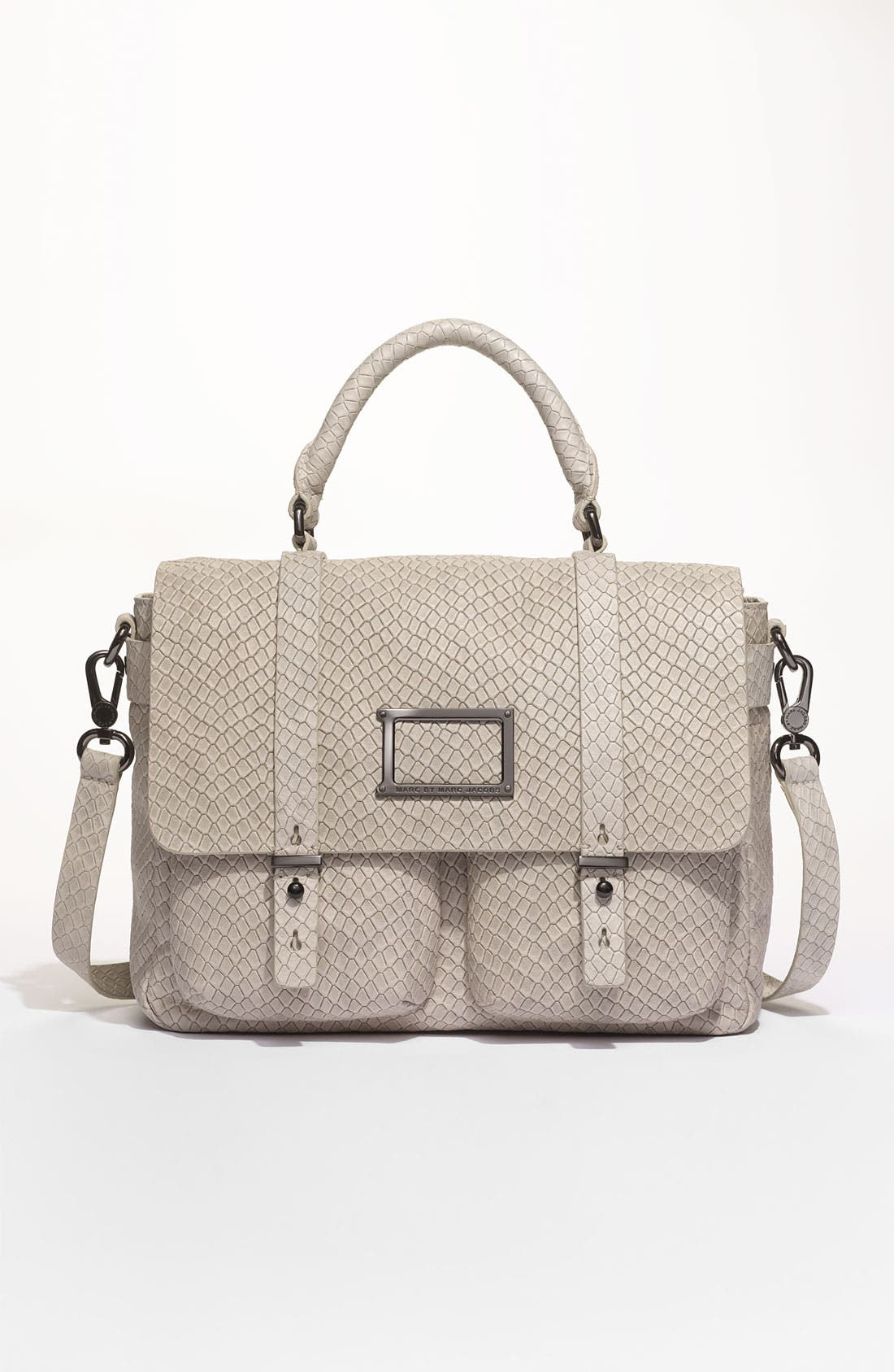 Alternate Image 2  - MARC BY MARC JACOBS 'Werdie' Snake Embossed Messenger Bag