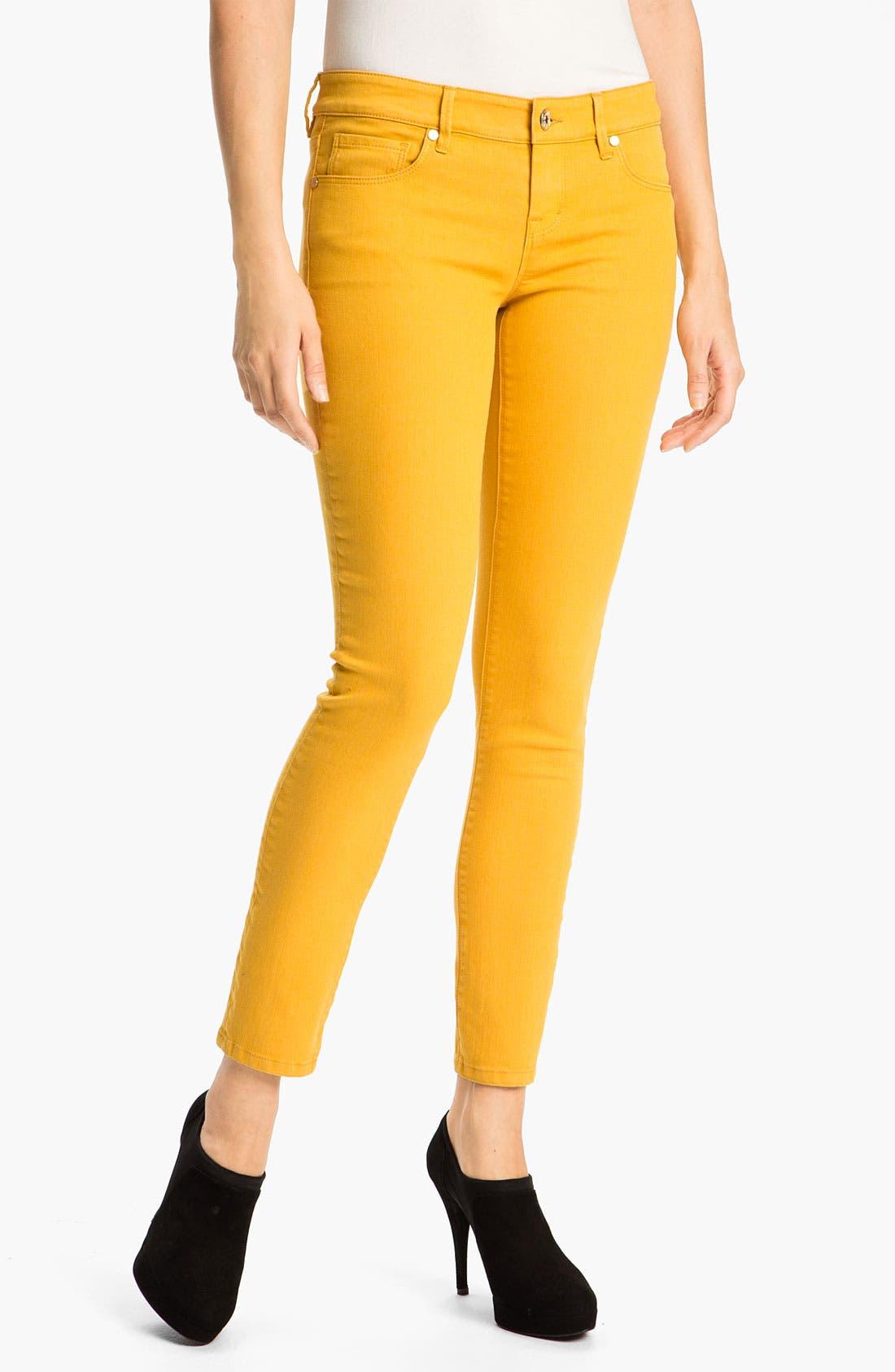 Main Image - Isaac Mizrahi Jeans 'Samantha' Colored Skinny Jeans