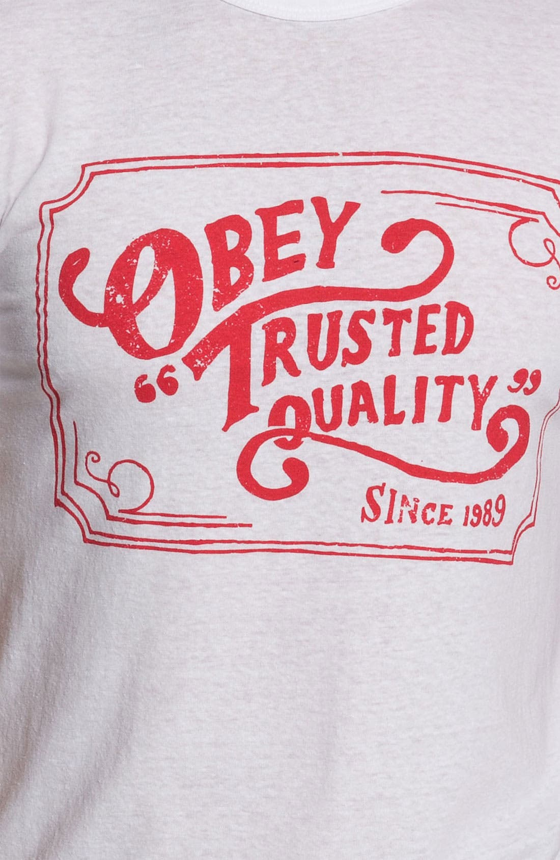 Alternate Image 3  - Obey 'Trusted Quality' T-Shirt