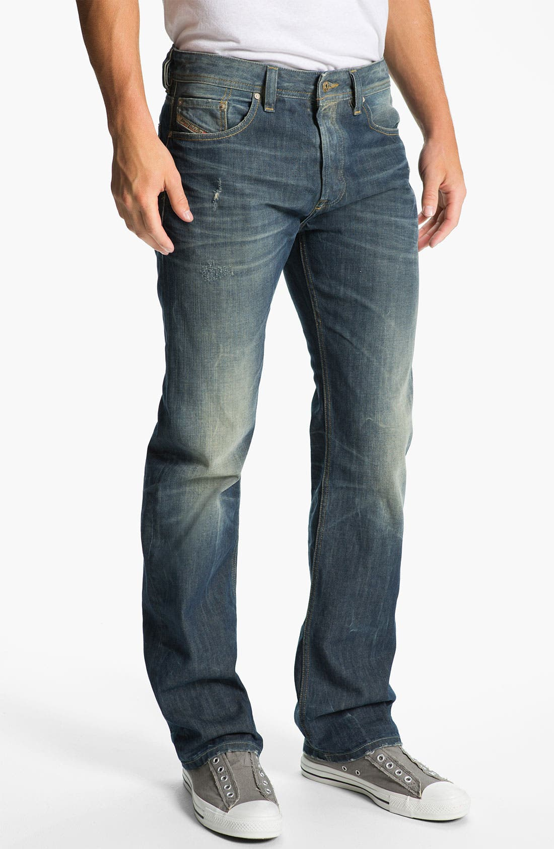 Alternate Image 2  - DIESEL® 'Larkee' Relaxed Straight Leg Jeans (0805U)