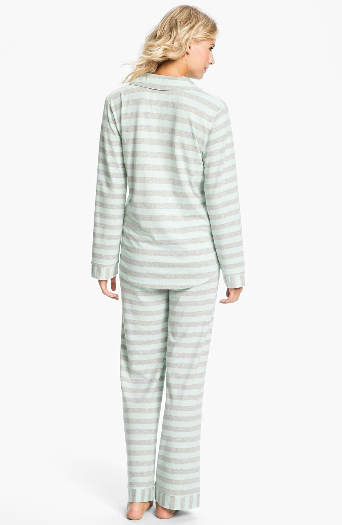 Alternate Image 2  - Nordstrom Knit Pajamas