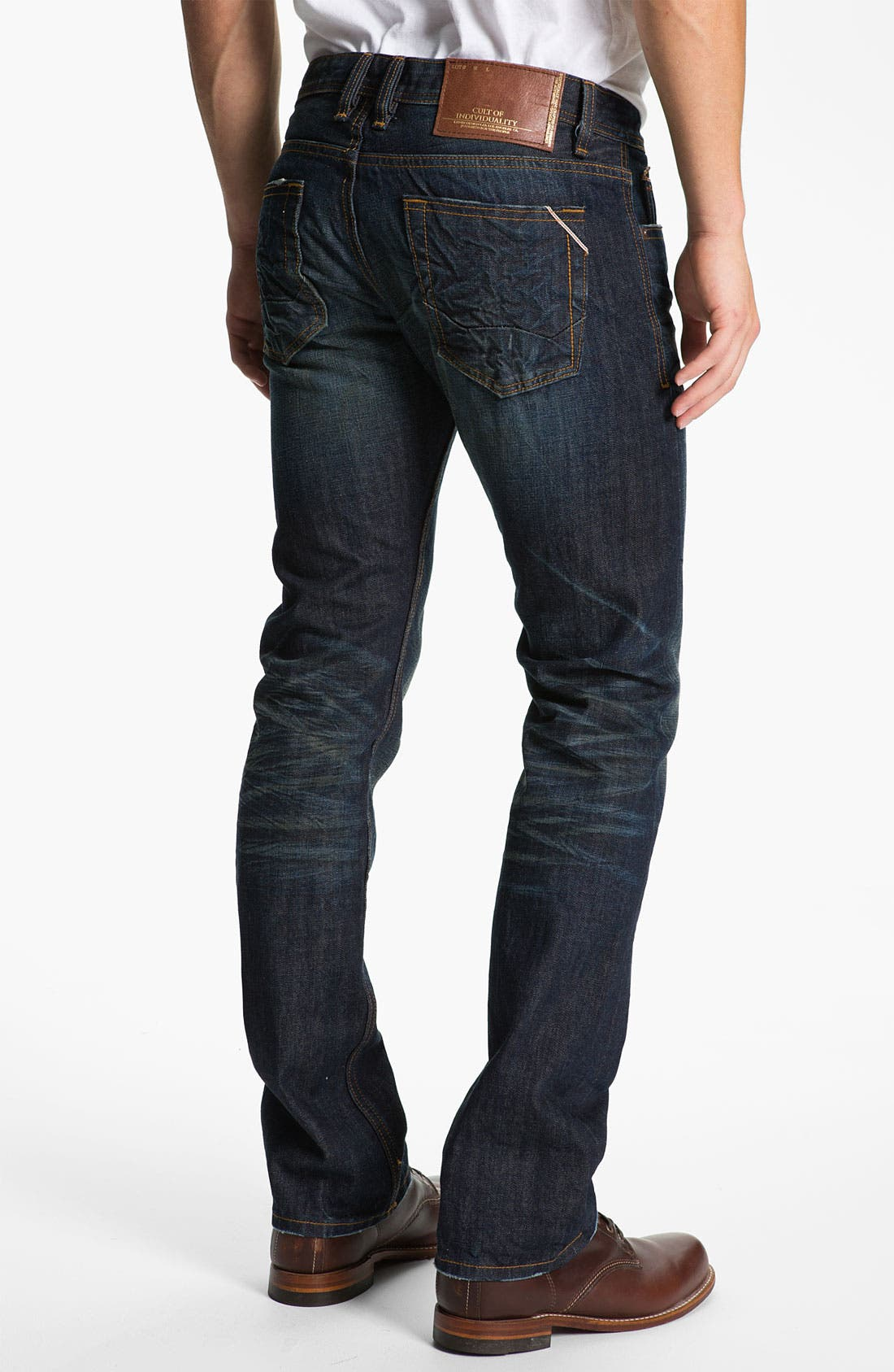 Main Image - Cult of Individuality 'Revel' Straight Leg Jeans