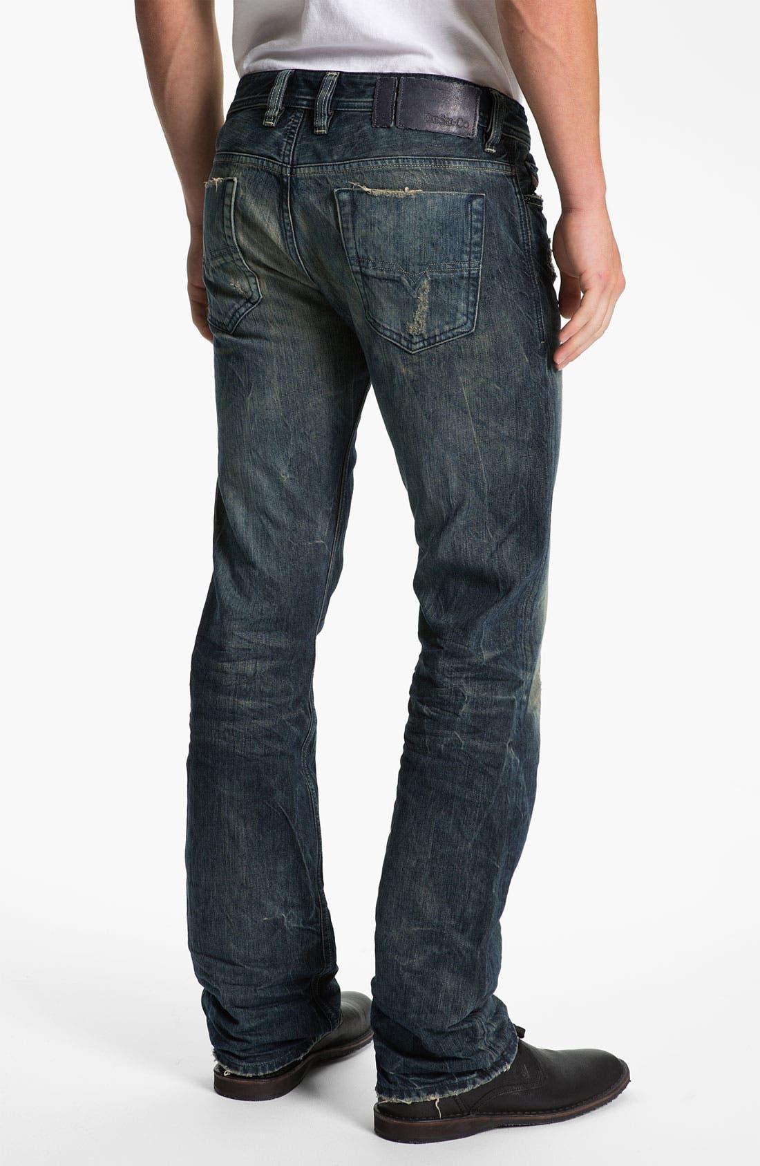 Alternate Image 1 Selected - DIESEL® 'Viker' Straight Leg Jeans