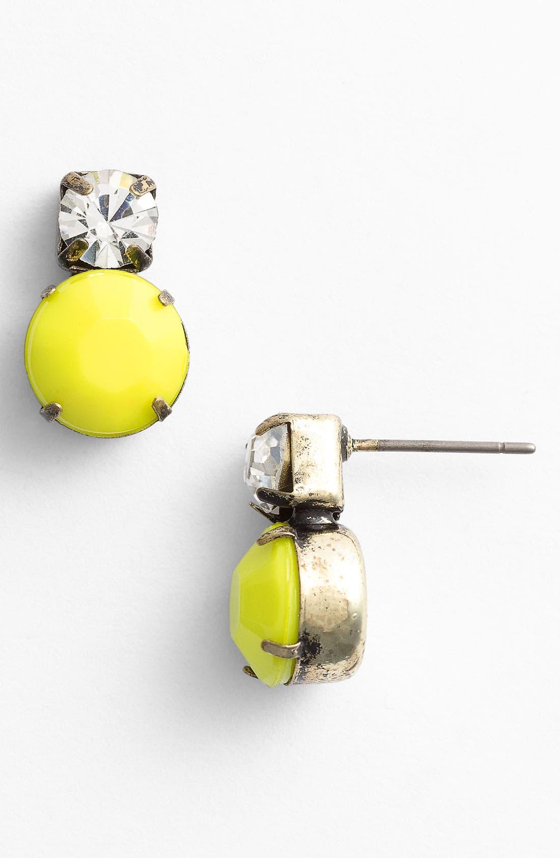 Alternate Image 1 Selected - Stephan & Co. Neon Stud Earrings