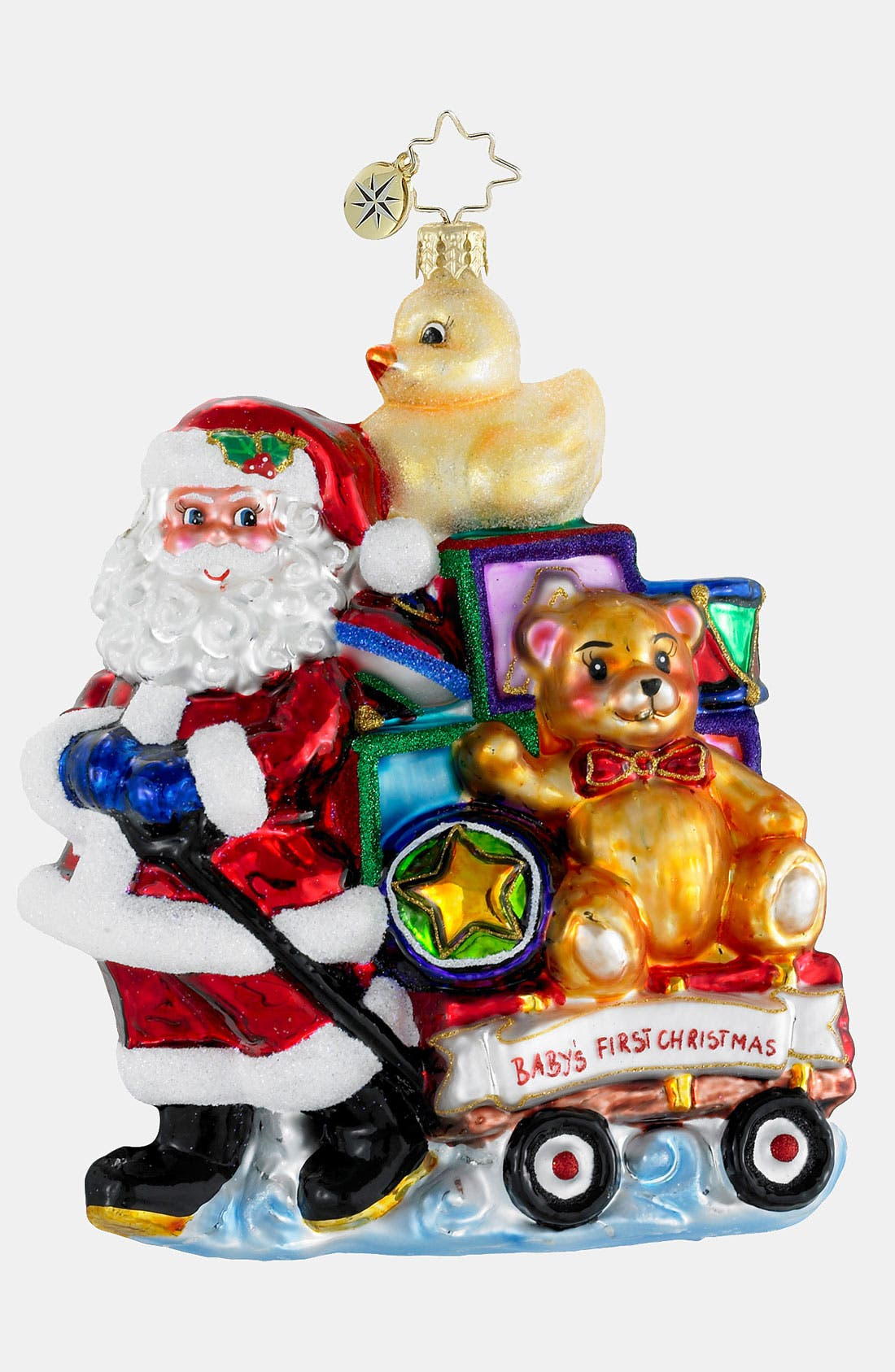 Alternate Image 1 Selected - Christopher Radko 'Showered with Toys' Ornament
