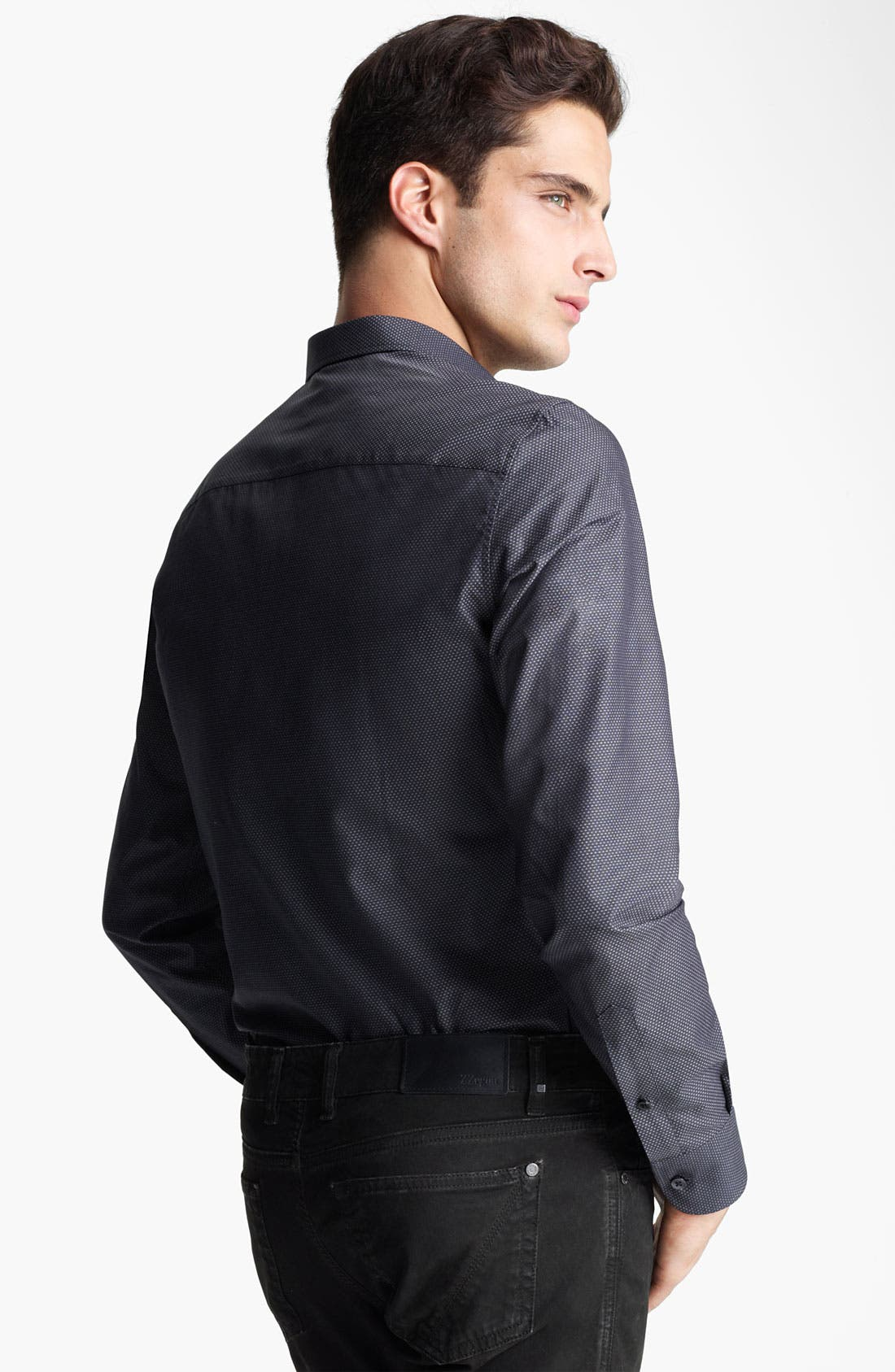 Alternate Image 2  - Z Zegna Slim Fit Sport Shirt