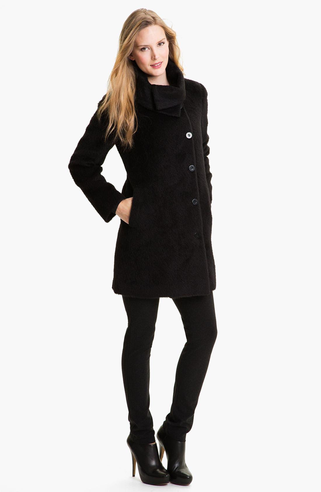 Alternate Image 4  - Eileen Fisher Suri Alpaca Coat
