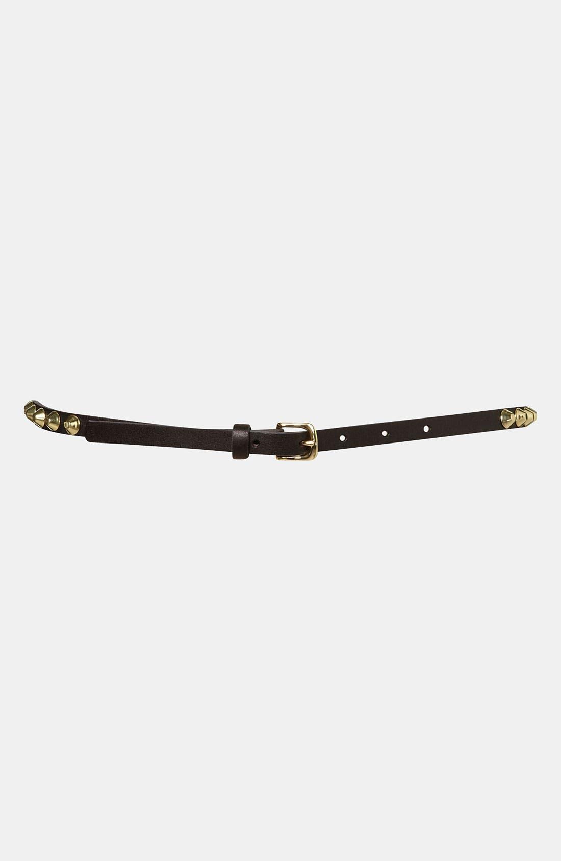 Alternate Image 1 Selected - Topshop 'Studded Grunge' Belt
