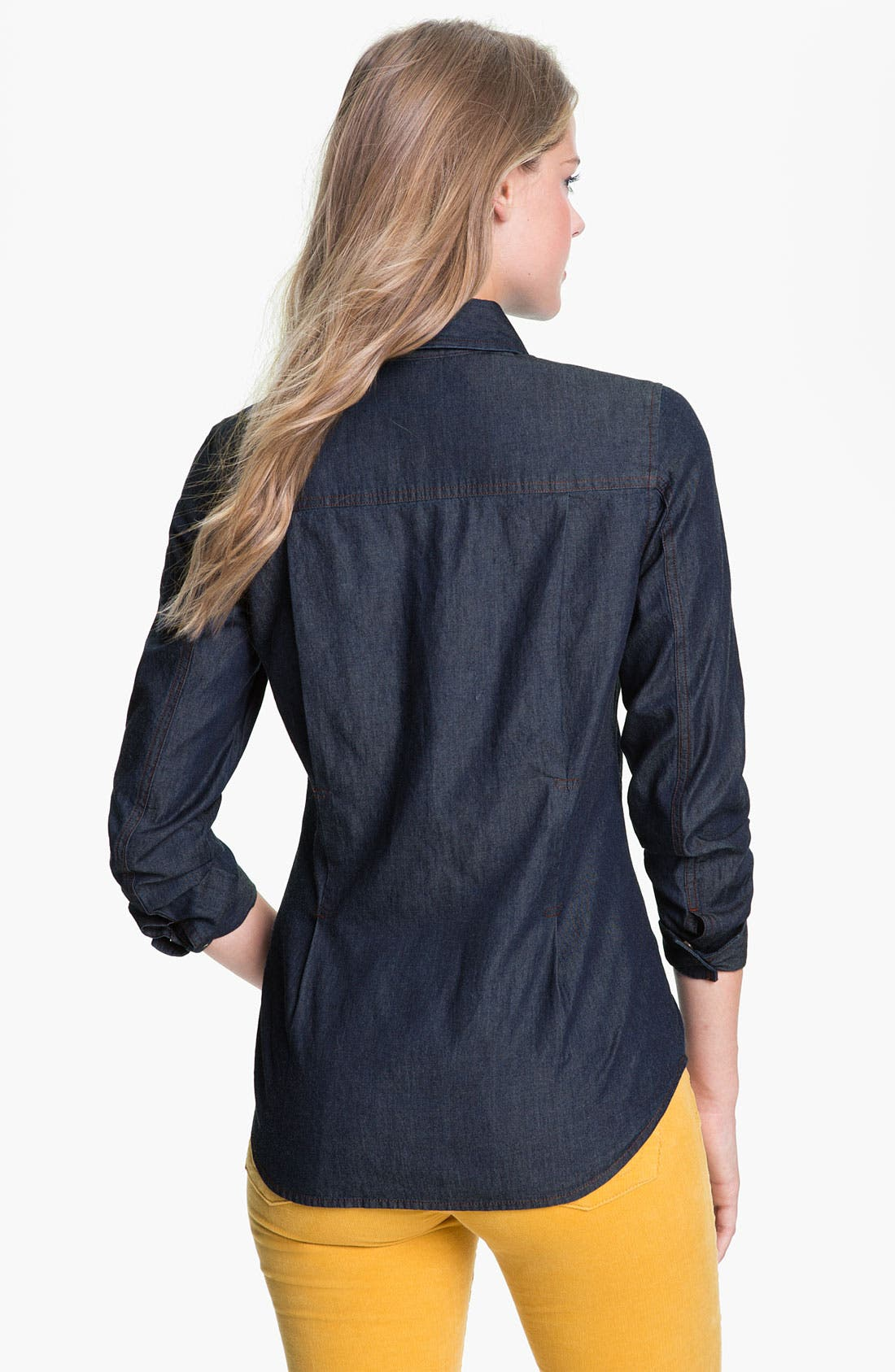 Alternate Image 2  - Pendleton Denim Shirt (Online Exclusive)