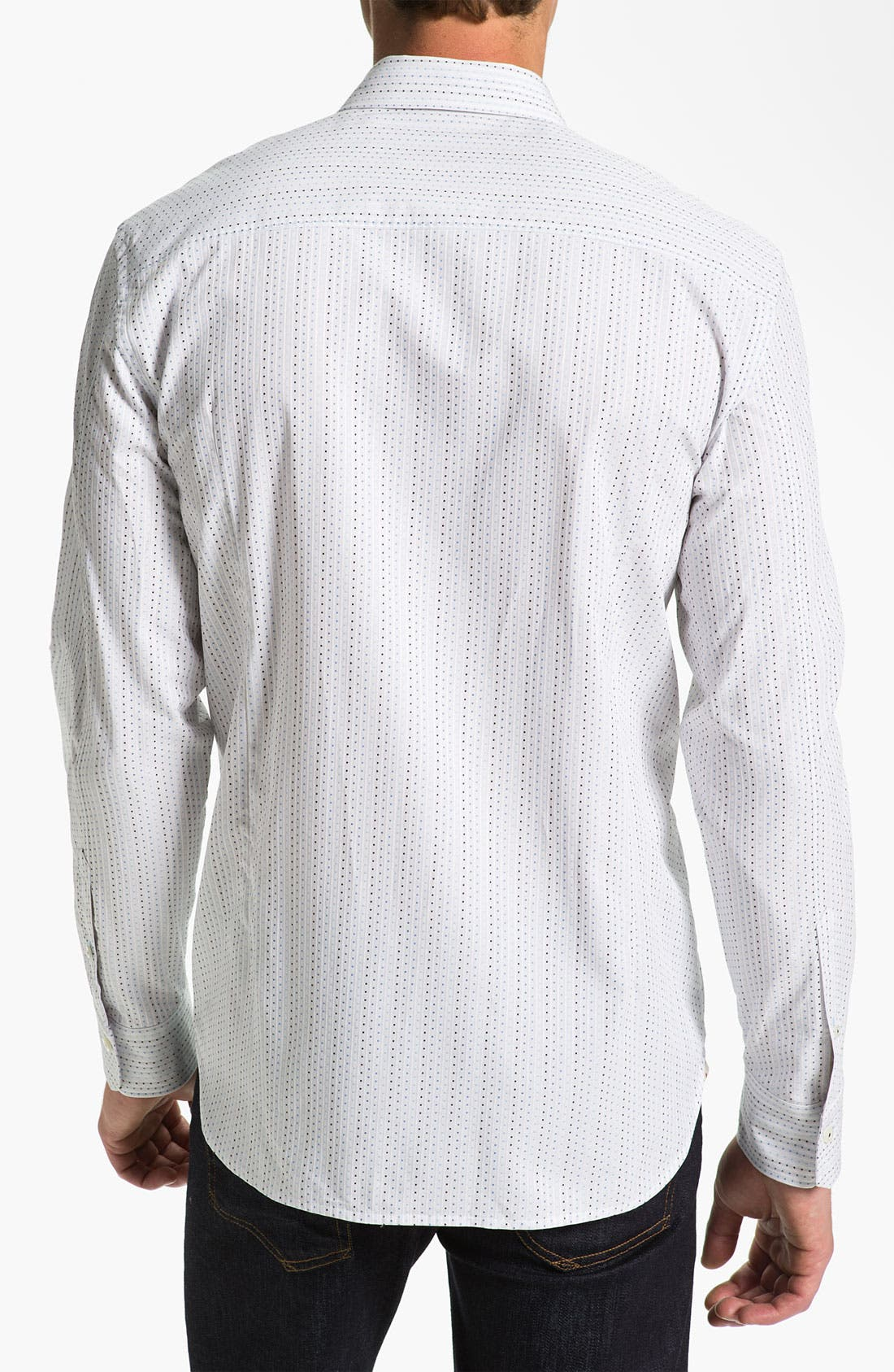 Alternate Image 2  - Tommy Bahama 'Jacquart-a Stripe' Sport Shirt