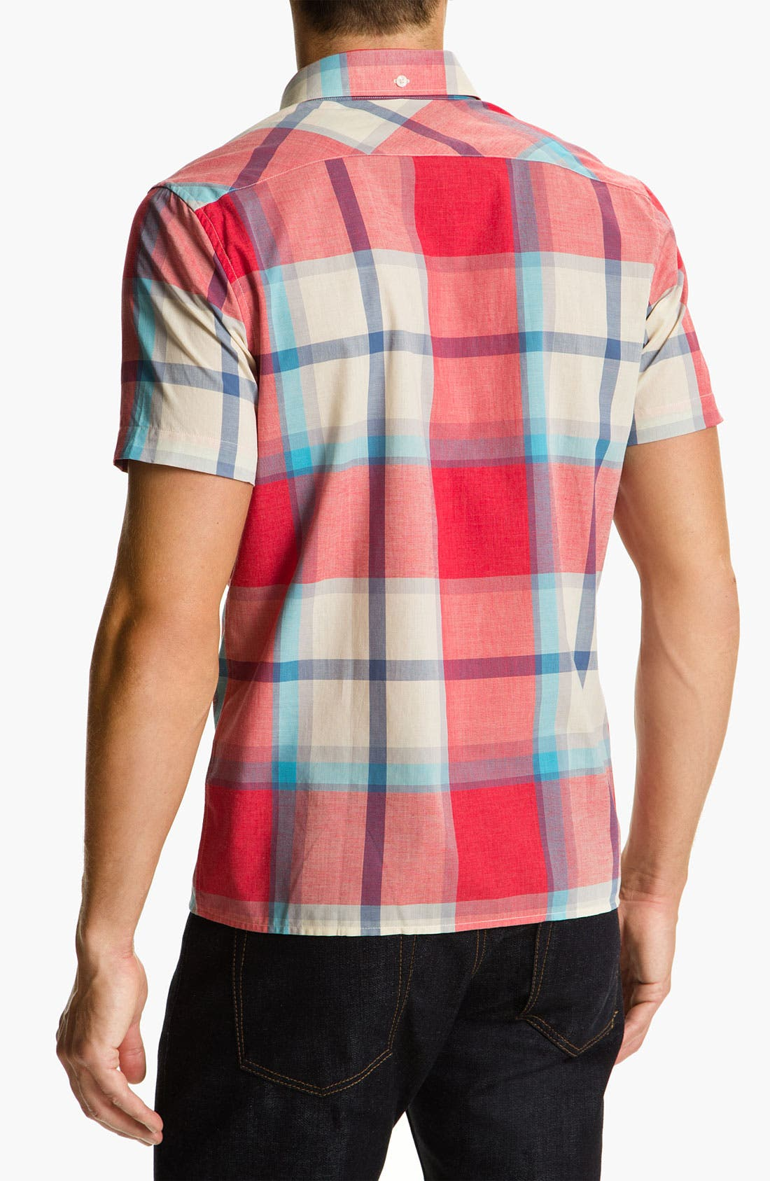 Alternate Image 2  - Ben Sherman Short Sleeve Woven Shirt
