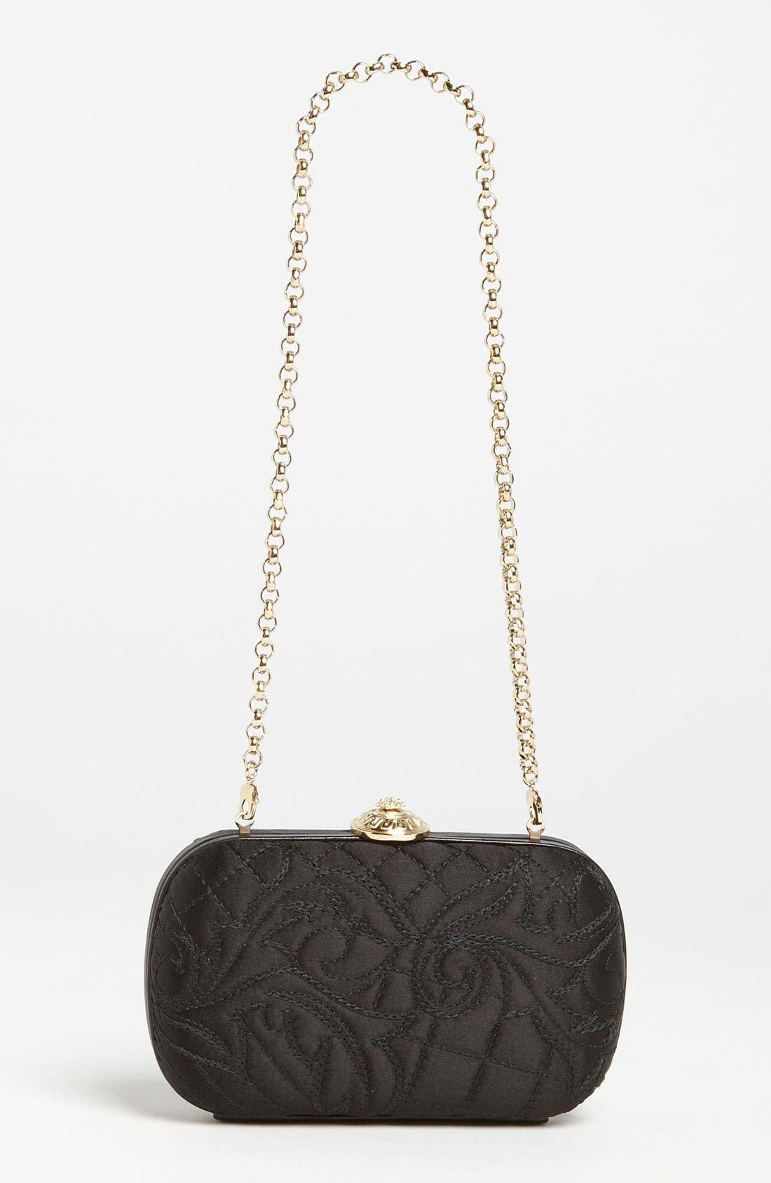 Main Image - Versace 'Linea' Box Clutch