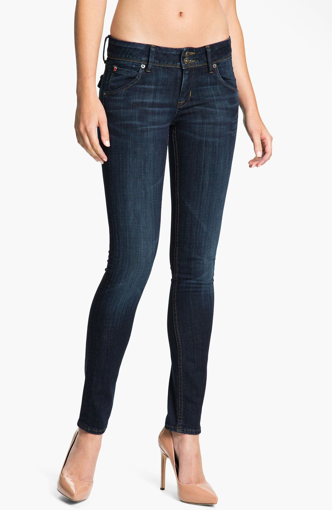 Main Image - Hudson Jeans 'Collin' Skinny Jeans (Belfast)