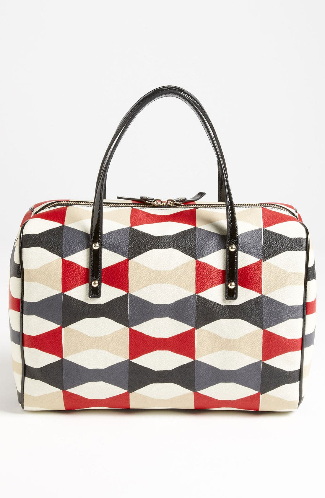 Alternate Image 4  - kate spade new york 'abstract signature bow - shawna' satchel