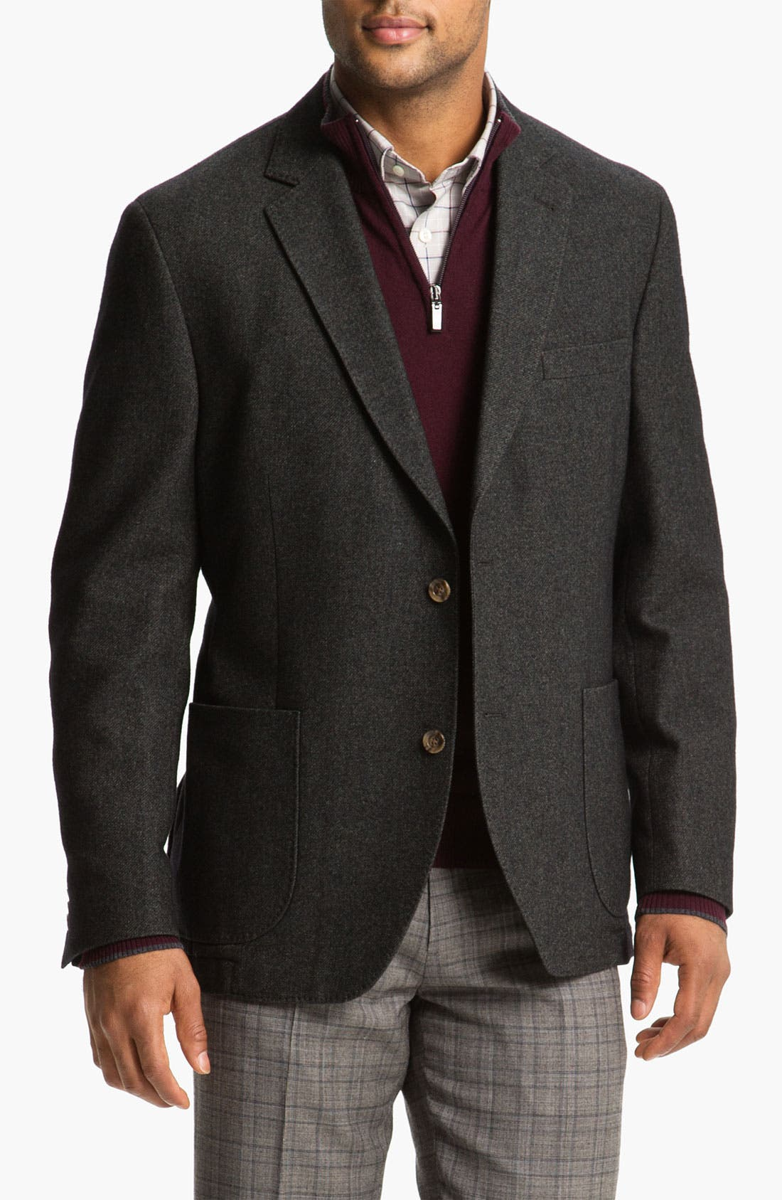 Alternate Image 1 Selected - Kroon 'Bono' Wool Blend Sportcoat