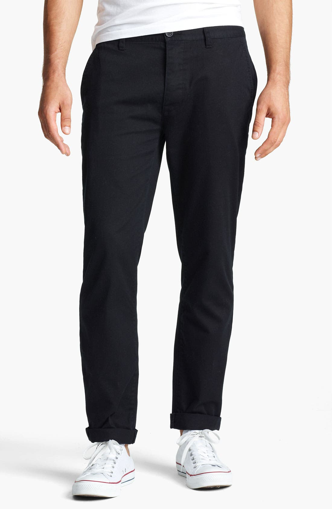 Main Image - Topman Slim Fit Chinos