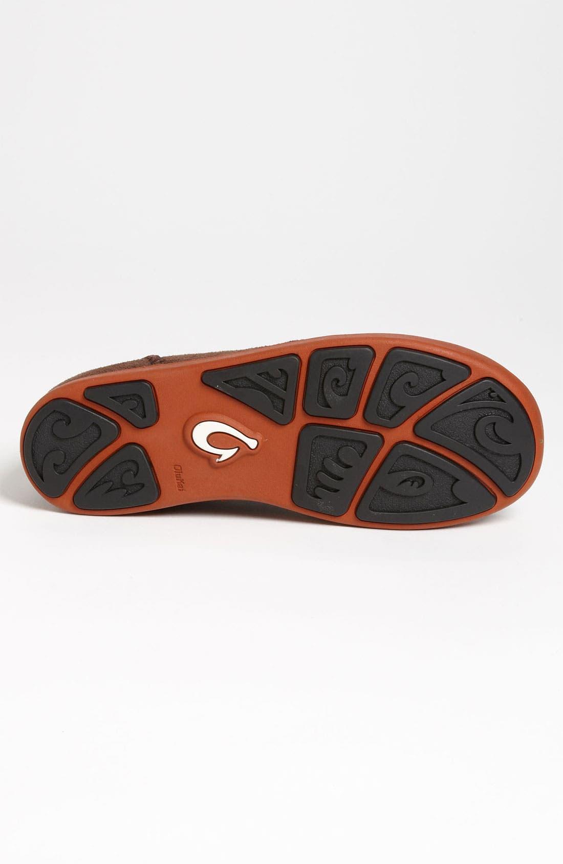 Alternate Image 4  - OluKai 'Maki' Suede Sneaker