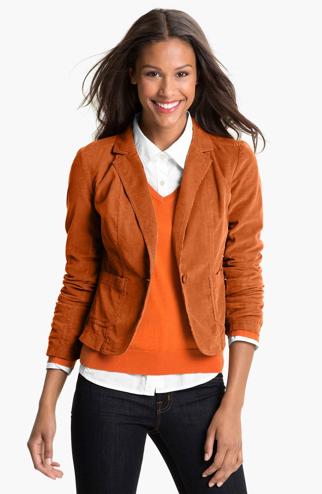 Alternate Image 1 Selected - Caslon® Corduroy Blazer