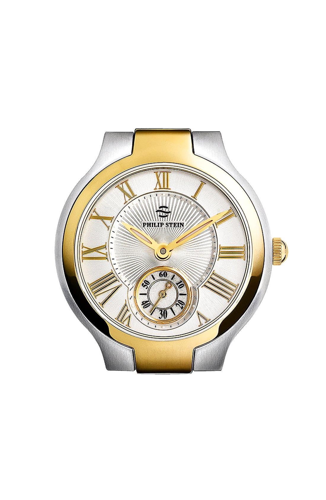 Alternate Image 1 Selected - Philip Stein® Round Watch Case