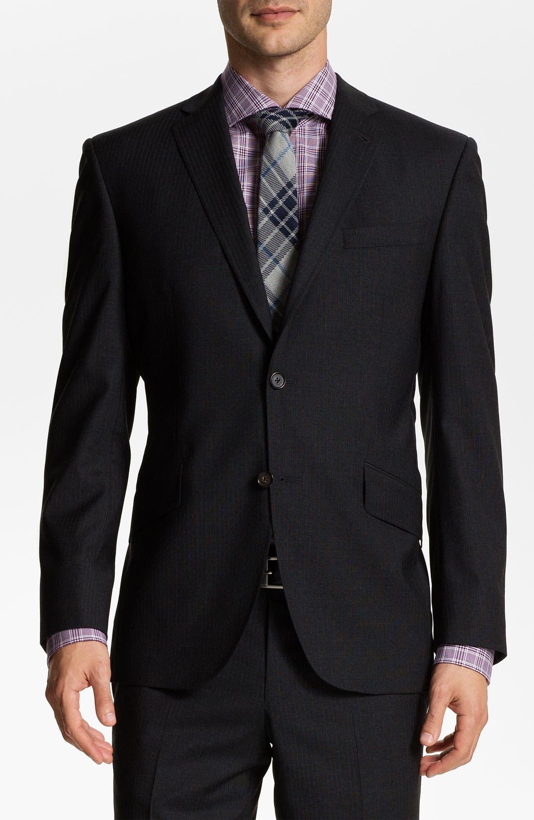 Alternate Image 1 Selected - Ted Baker London 'Jones' Trim Fit Wool Suit