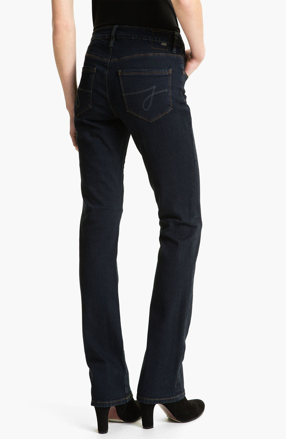 Alternate Image 2  - Jag Jeans 'Foster' Narrow Bootcut Jeans (Petite)