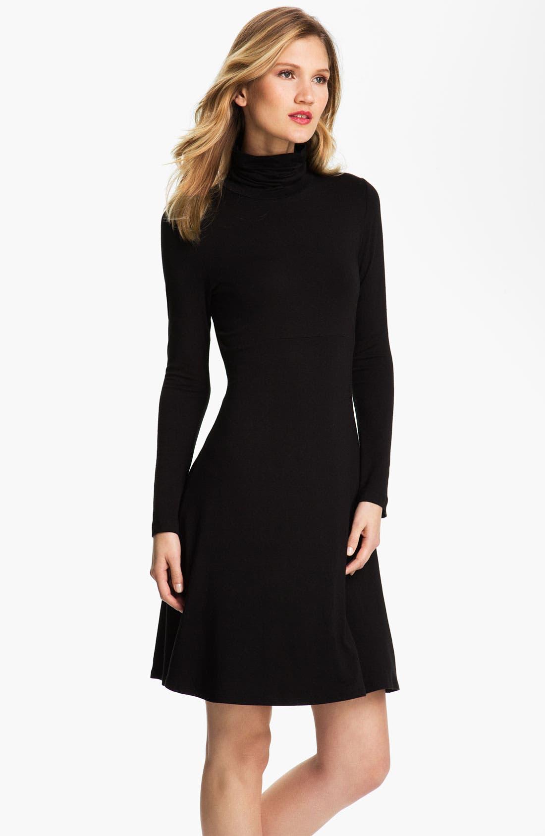 Main Image - Karen Kane Turtleneck Dress