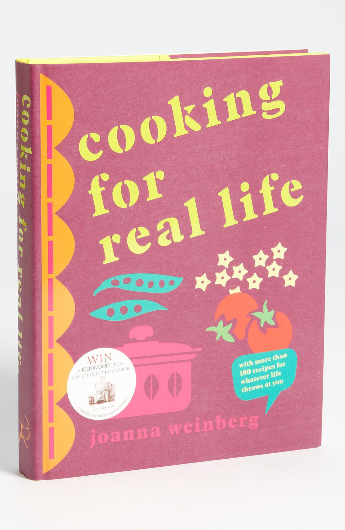 Alternate Image 1 Selected - 'Cooking for Real Life' Cookbook